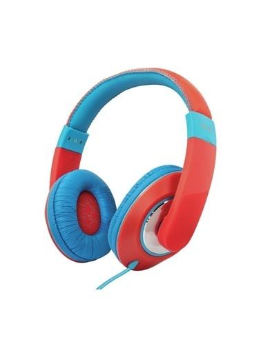 Trust Trust Sonin Kırmızı Kablolu Kulak Üstü Çocuk Kulaklığı Renkli